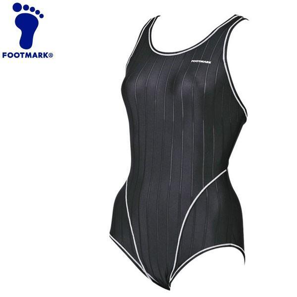 フットマーク 水泳 ワンピースハイパーバック ベーシック4L、5L 水着 258044B1-09