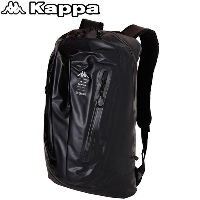 カッパ サッカー 防水バックパック KL758BA02-BK