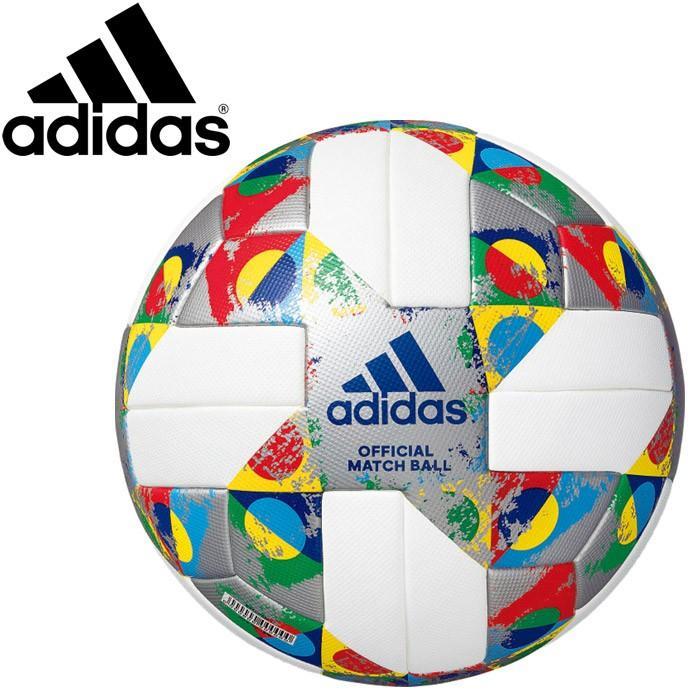 アディダス UEFA ネーションズリーグ サッカーボール 5号 AF5540NL