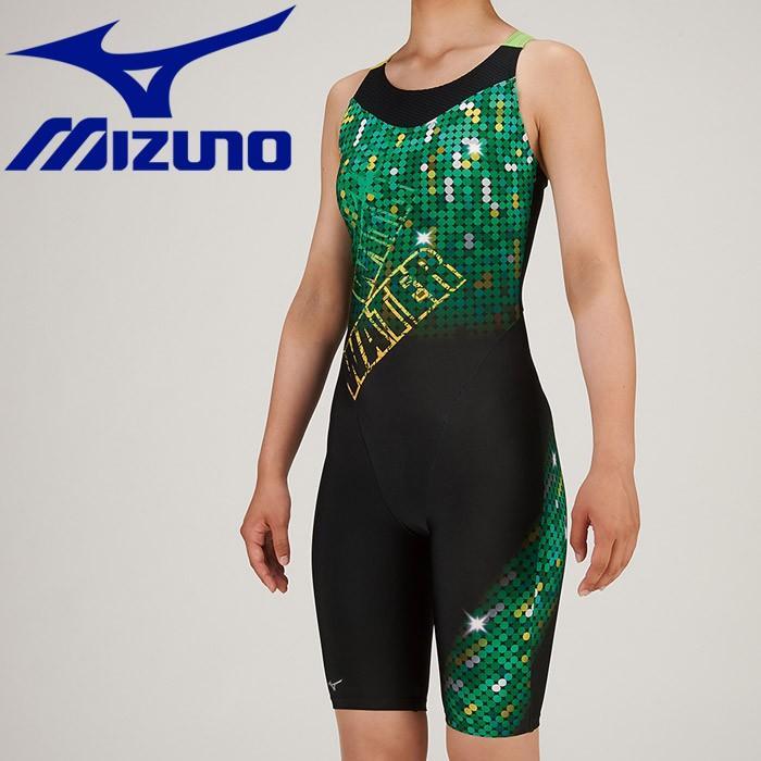 ミズノ 水泳 スイム アクアフィットネス用 オールインワン ピースバック 水着 レディース N2JG930793