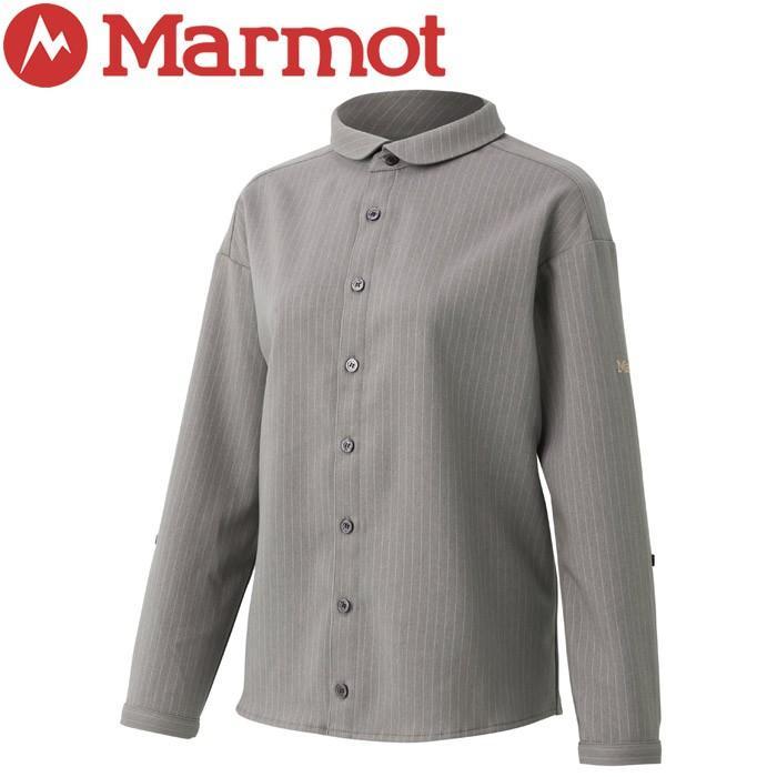 マーモット Ws 2way L/S Shirt ウィメンズツーウェイロングスリーブシャツ レディース TOWOJB80YY-MGY