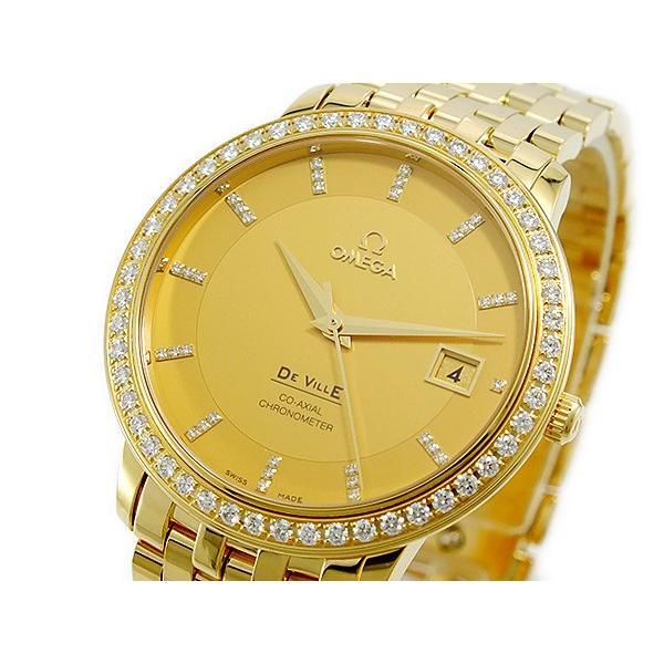【大注目】 オメガ OMEGA デビル 自動巻 レディース 腕時計 41355372058001 ゴールド, 日本健康美容開発 f250c42f
