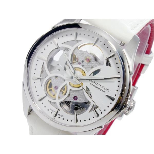 高級素材使用ブランド ハミルトン HAMILTON ジャズマスター JAZZ MASTER 自動巻 レディース 腕時計 H32405811 ホワイト, ヨゴチョウ 8d109b25