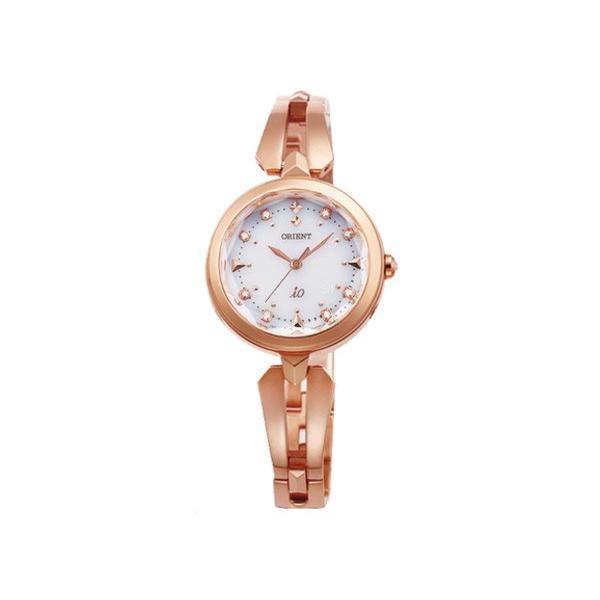 (訳ありセール 格安) オリエント ORIENT イオ iO スイートジュエリー・スイートコスメ ソーラー レディース 腕時計 WI0101SD 国内正規 ホワイト, FAUbon 171a53a5