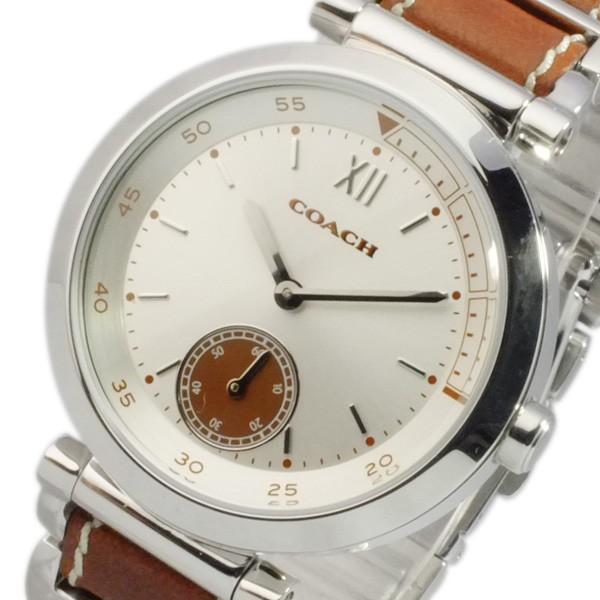 【高額売筋】 コーチ COACH スポーツ クオーツ レディース 腕時計 14502032 シルバー, リトルシンコム a51713f0