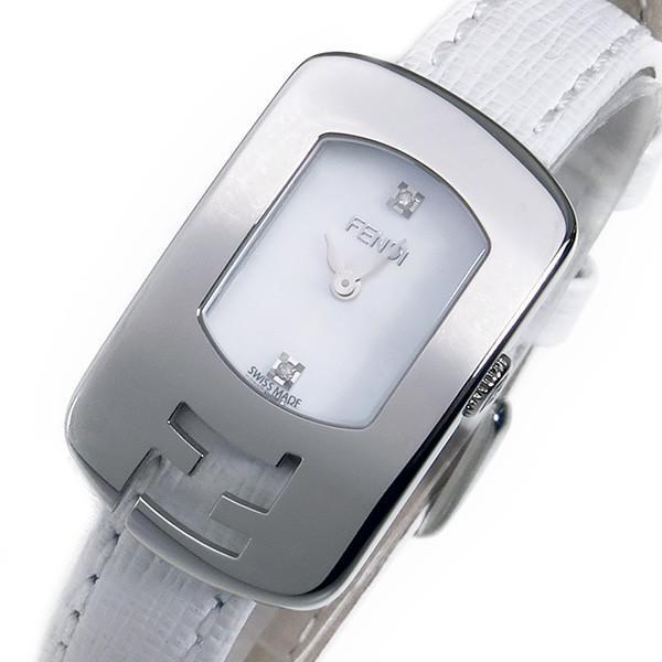 2019激安通販 フェンディ カメレオン クオーツ レディース 腕時計 F300024541D1 ホワイト ホワイト, スエヨシチョウ 6f35226b