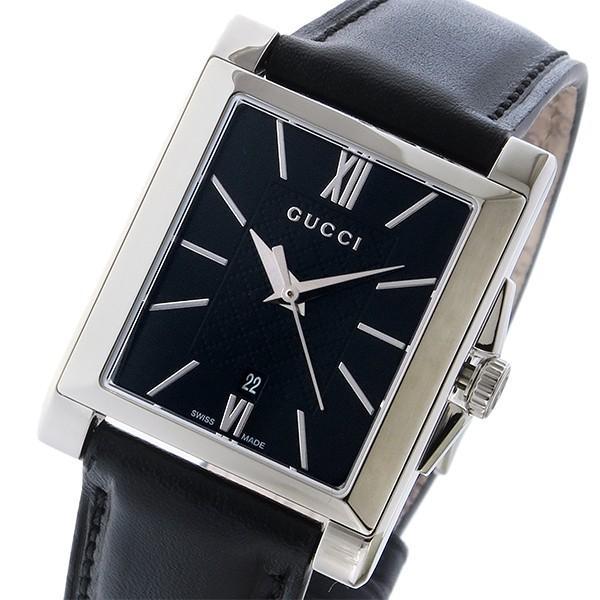 贈り物 グッチ GUCCI レクタングル グッチ クオーツ レディース 腕時計 ブラック YA138503 ブラック レクタングル ブラック, 値段が激安:92ba1974 --- airmodconsu.dominiotemporario.com