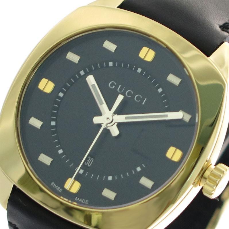 激安正規  グッチ GUCCI 腕時計 レディース YA142408 クォーツ ブラック ブラック, 岩間町 99e1dee6