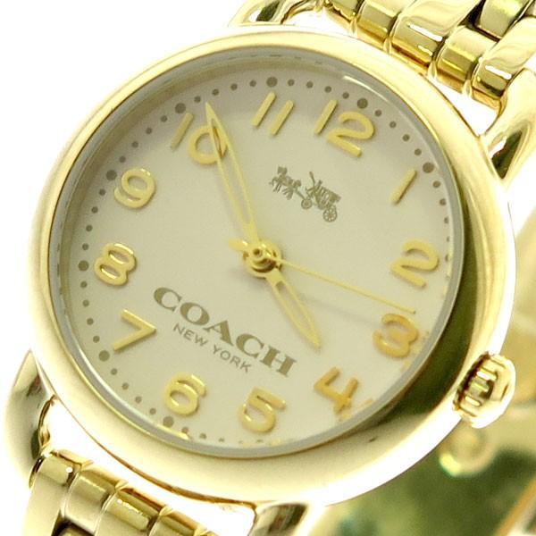 注文割引 コーチ 14502277 COACH 腕時計 レディース 14502277 COACH デランシー クォーツ クォーツ オフホワイト ゴールド ゴールド, キュアマート:962fdf11 --- airmodconsu.dominiotemporario.com