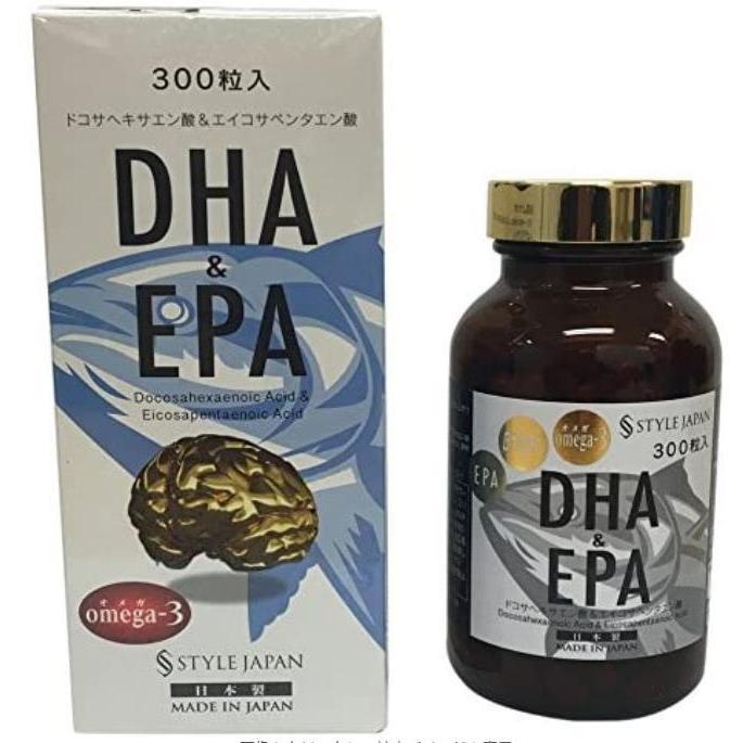 スタイルジャパン DHA&EPA 300粒 90g 日本製 4セット