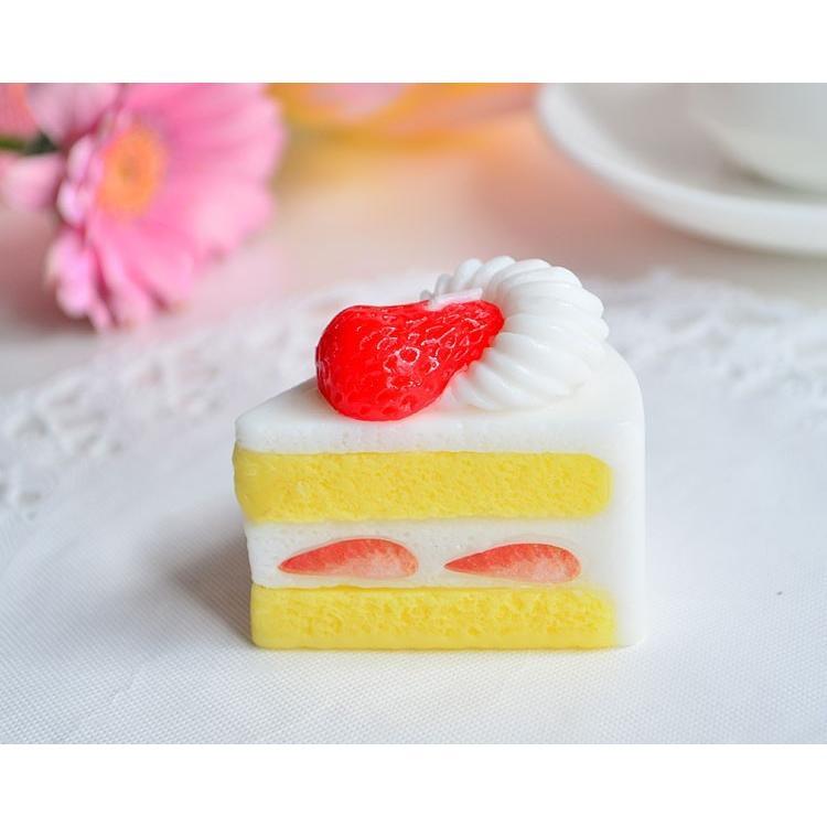 カメヤマキャンドル スイーツキャンドル 日本メーカー新品 特別セール品 イチゴの ショ−トケ−キ ケーキ パーティー スイーツ プレゼント