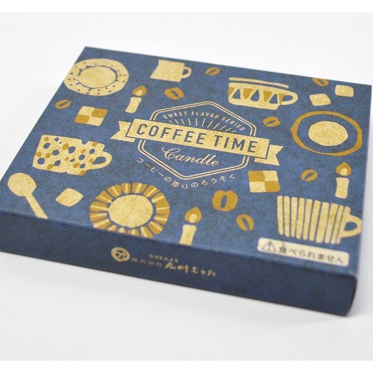 ろうそく ミニ寸 COFFEE 送料無料お手入れ要らず TIME コーヒーキャンドル セール開催中最短即日発送 SWEET FLAVOR 2個までネコポスOK 燃焼時間約16分 日本製 インセンスキャンドル SERIES ギフト