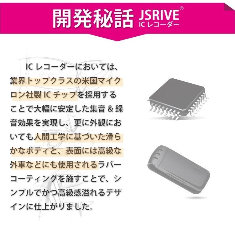 ボイスレコーダー ICレコーダー 録音機 小型 長時間 JSRIVE|ansindostore|13