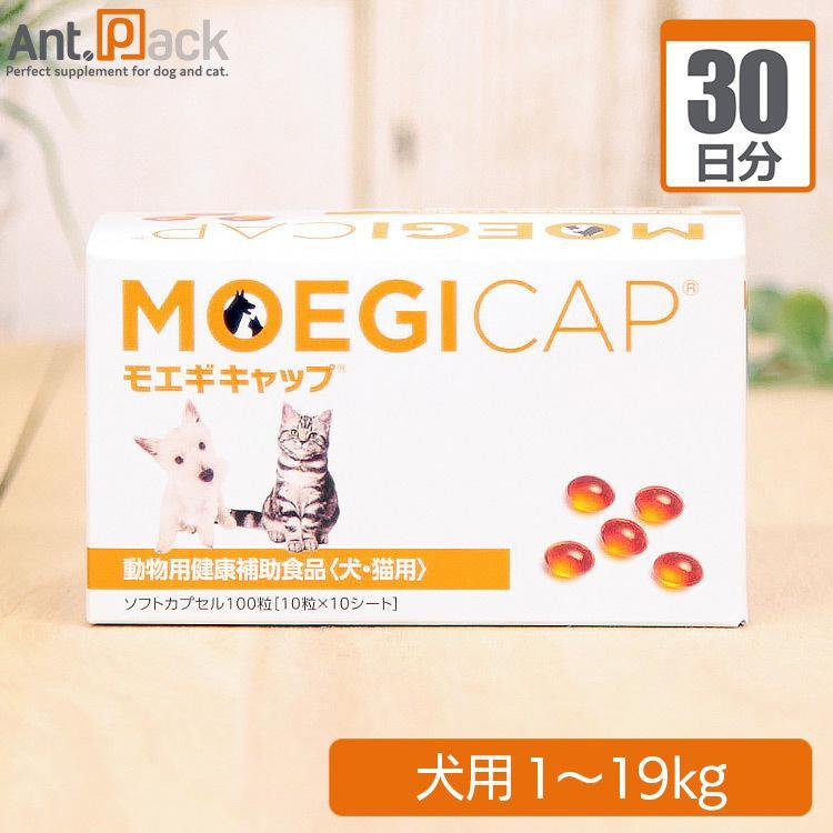 モエギキャップ 犬用 体重1kg〜19kg 1日1粒30日分 SALE開催中 お中元