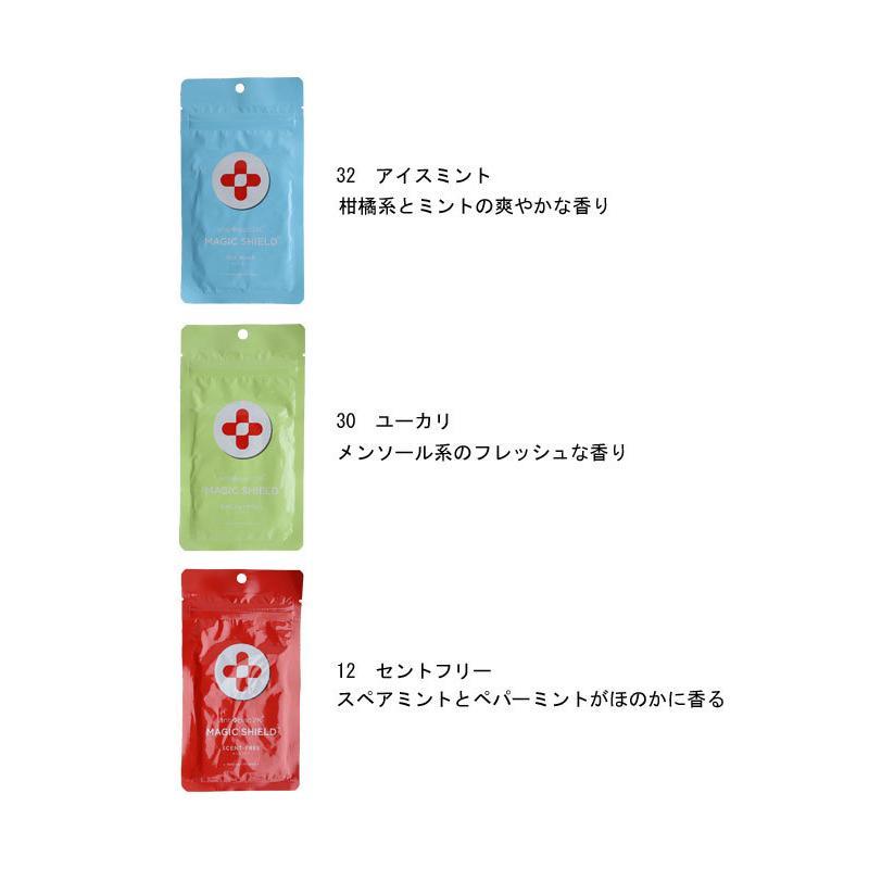メール便可 マスク シール マジックシールド パッチ 30枚入り 日本製 国産 除菌 消臭 プレゼント|antiqcafe|11
