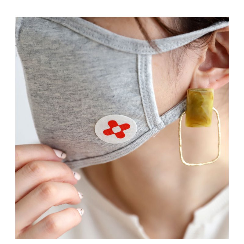 メール便可 マスク シール マジックシールド パッチ 30枚入り 日本製 国産 除菌 消臭 プレゼント|antiqcafe|04