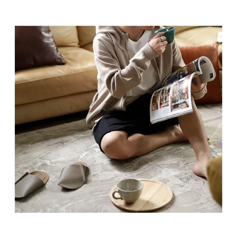 スリッパ レザー 革 パンプス 靴 お洒落 レディース ギフト アンティカフェ メール便不可 antiqcafe 12