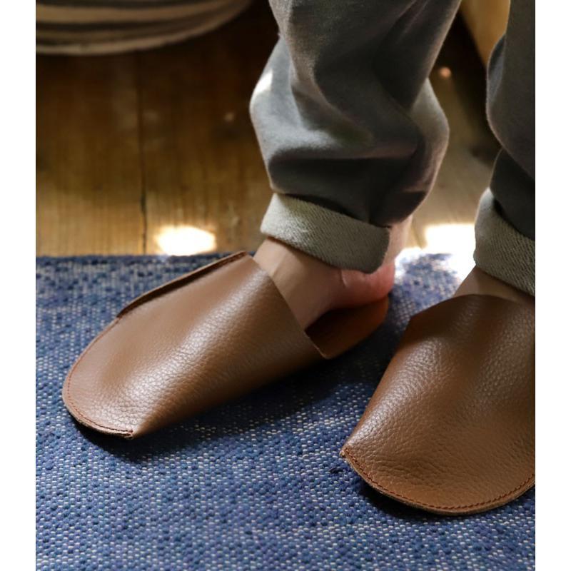 スリッパ レザー 革 パンプス 靴 お洒落 レディース ギフト アンティカフェ メール便不可 antiqcafe 03