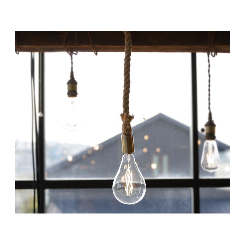 ダクトレール用 麻縄ロープ E26 1灯ペンダントライト LED対応 天井照明 アンティカフェ antiqcafe 17