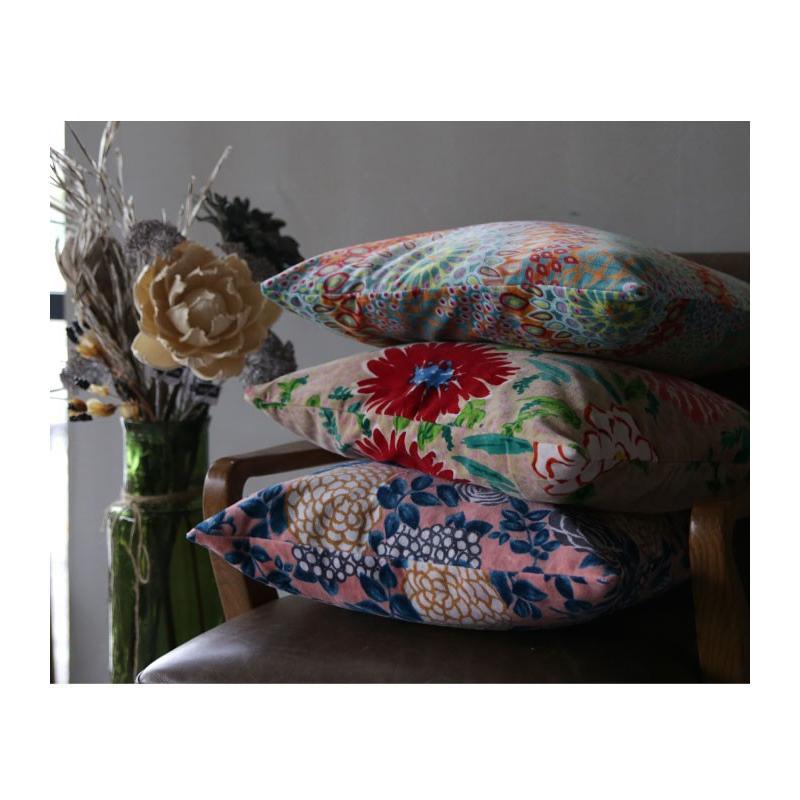 クッションカバー 46×46cm 花柄 アンティーク 北欧 四角形  アンティカフェ 45×45cm antiqcafe 11