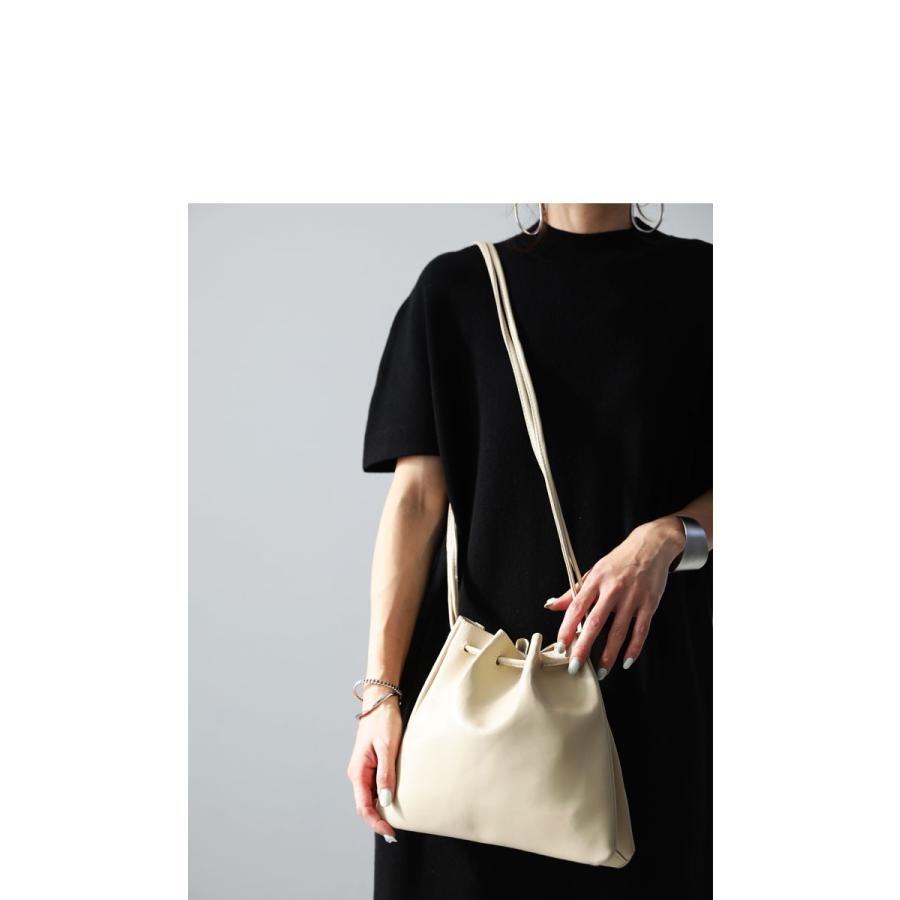 バッグ 鞄 フェイクレザー レディース ショルダーバッグ レザー巾着バッグ・再販。メール便不可|antiqua|11
