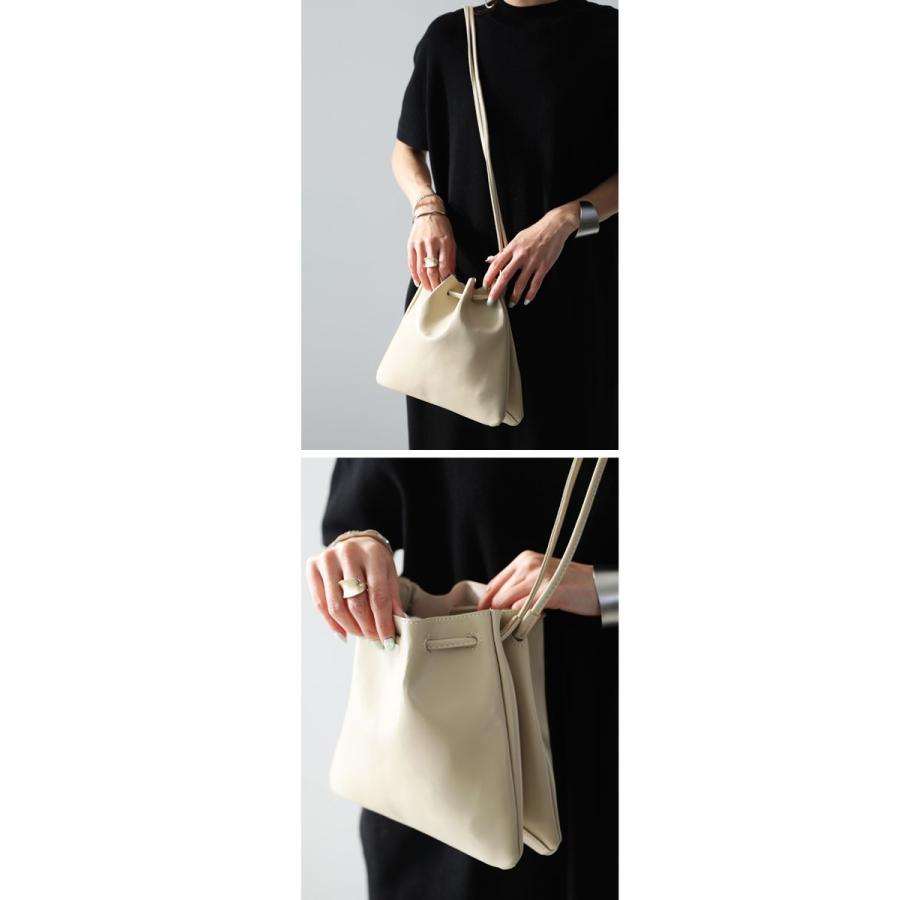バッグ 鞄 フェイクレザー レディース ショルダーバッグ レザー巾着バッグ・再販。メール便不可|antiqua|05