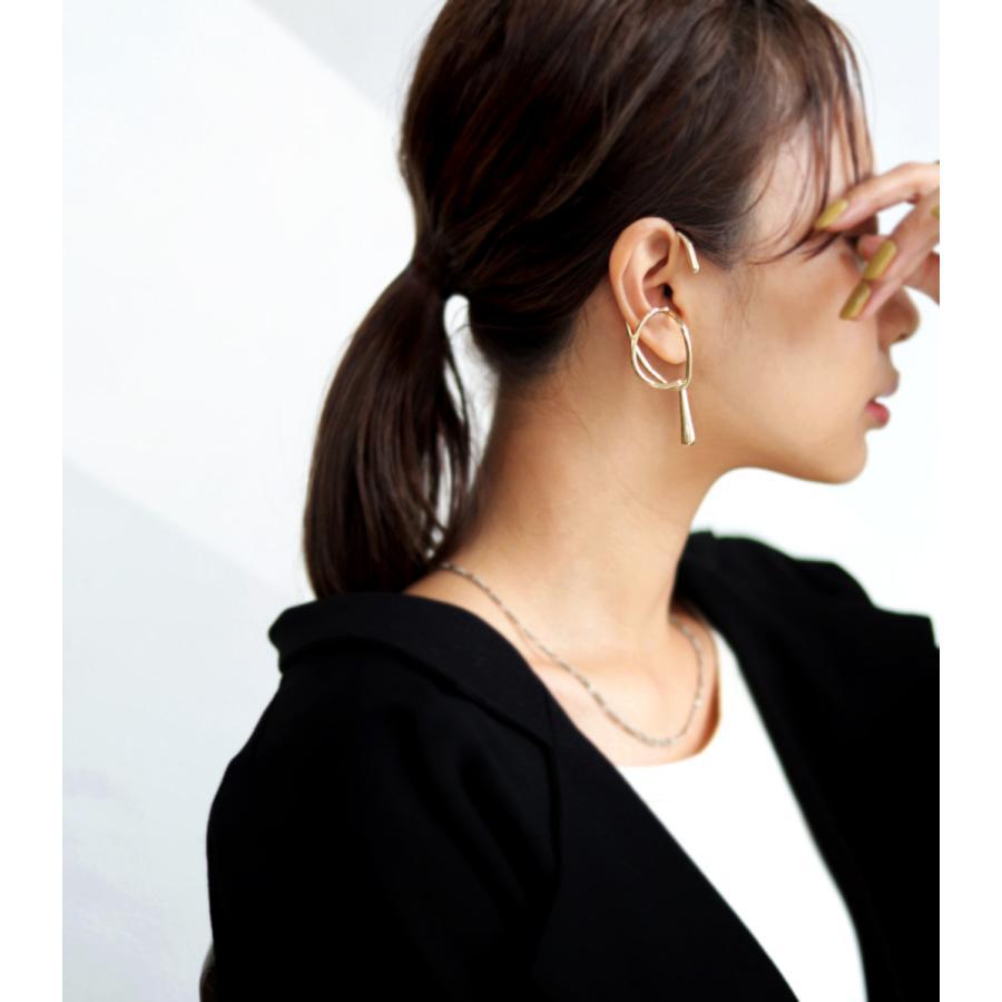 イヤーカフ イヤーフック レディース フックタイプ 片耳用・9月19日10時〜発売。30ptメール便可|antiqua|10