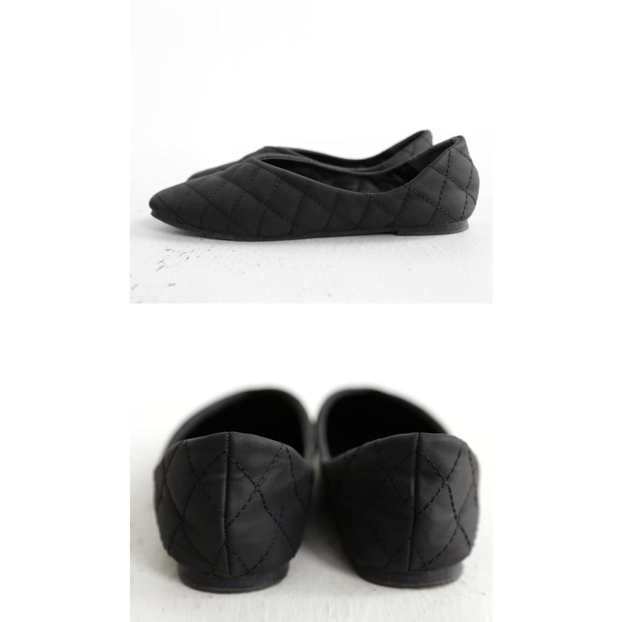 キルティングシューズ パンプス 痛くない 歩きやすい 靴・メール便不可 母の日|antiqua|14