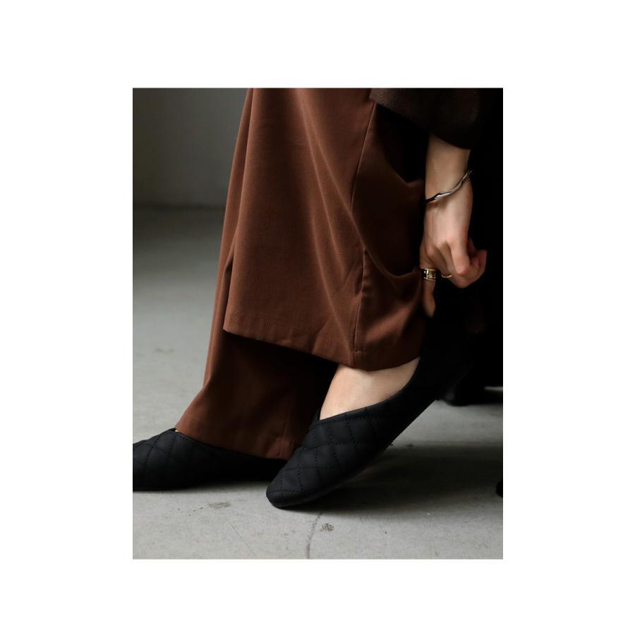 キルティングシューズ パンプス 痛くない 歩きやすい 靴・メール便不可 母の日|antiqua|16