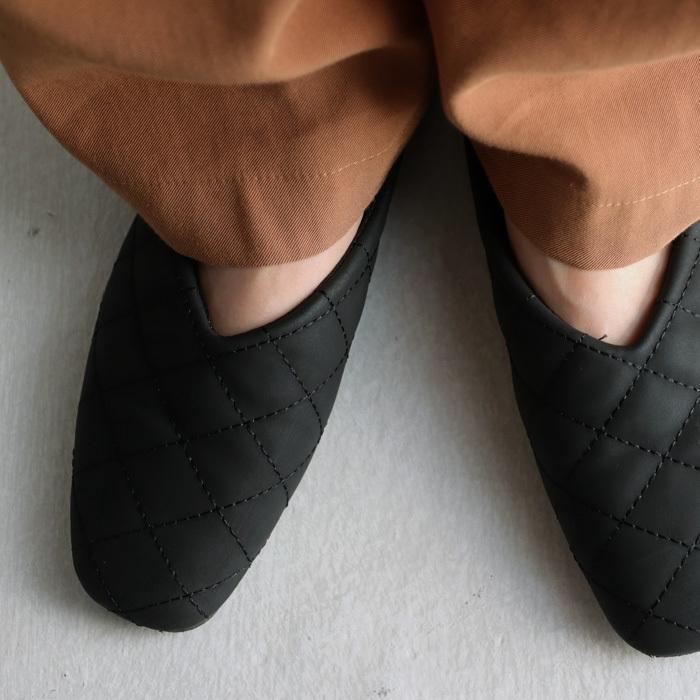 キルティングシューズ パンプス 痛くない 歩きやすい 靴・メール便不可 母の日|antiqua|18