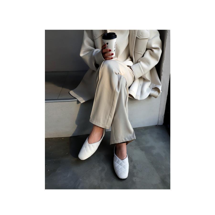 キルティングシューズ パンプス 痛くない 歩きやすい 靴・メール便不可 母の日|antiqua|04