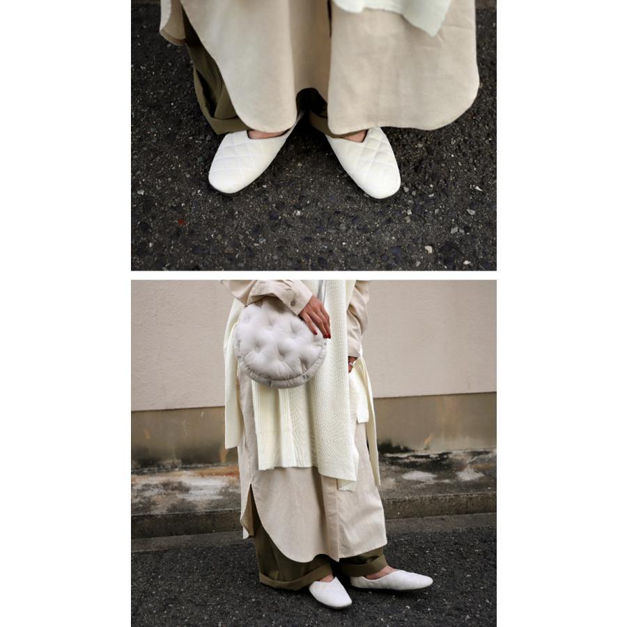 キルティングシューズ パンプス 痛くない 歩きやすい 靴・メール便不可 母の日|antiqua|07
