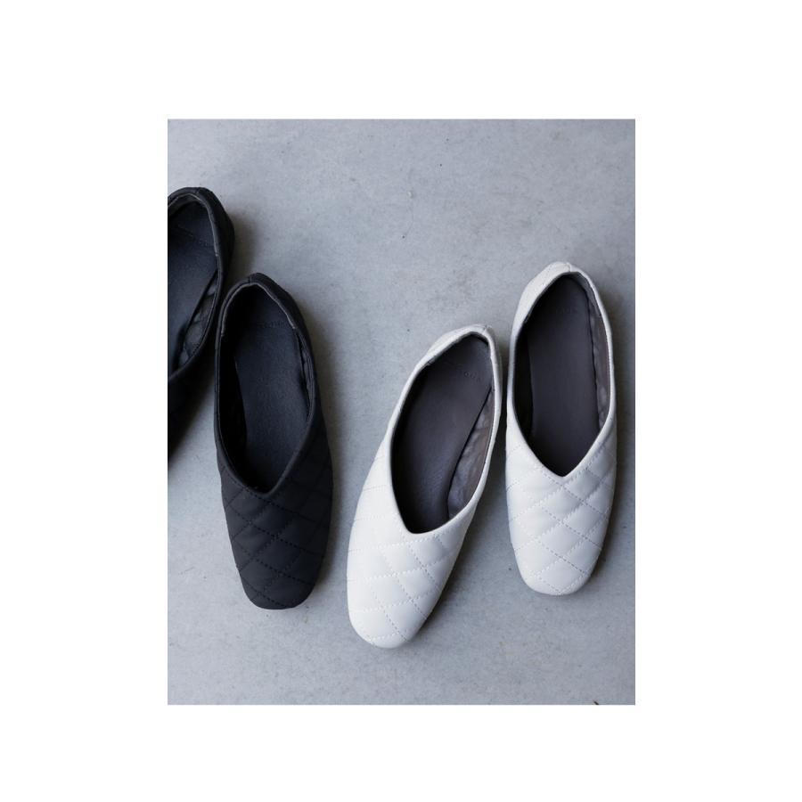キルティングシューズ パンプス 痛くない 歩きやすい 靴・メール便不可 母の日|antiqua|09
