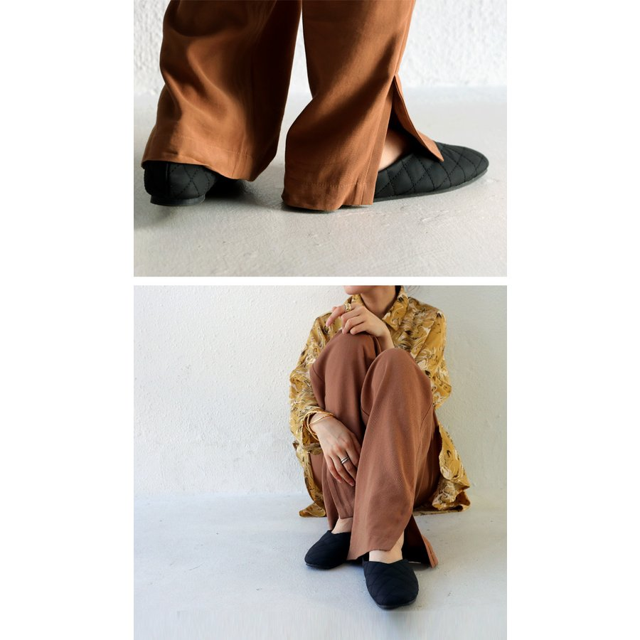 キルティングシューズ パンプス 痛くない 歩きやすい 靴・メール便不可 母の日|antiqua|10