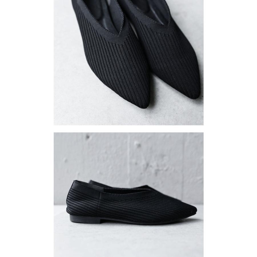 ニットパンプス 靴 パンプス 痛くない 歩きやすい・9月24日10時〜再再販。メール便不可 antiqua 07