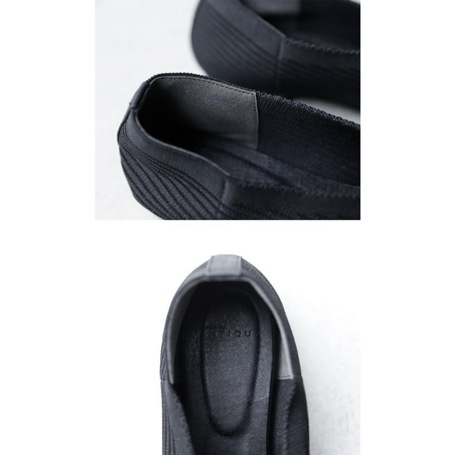 ニットパンプス 靴 パンプス 痛くない 歩きやすい・9月24日10時〜再再販。メール便不可 antiqua 08