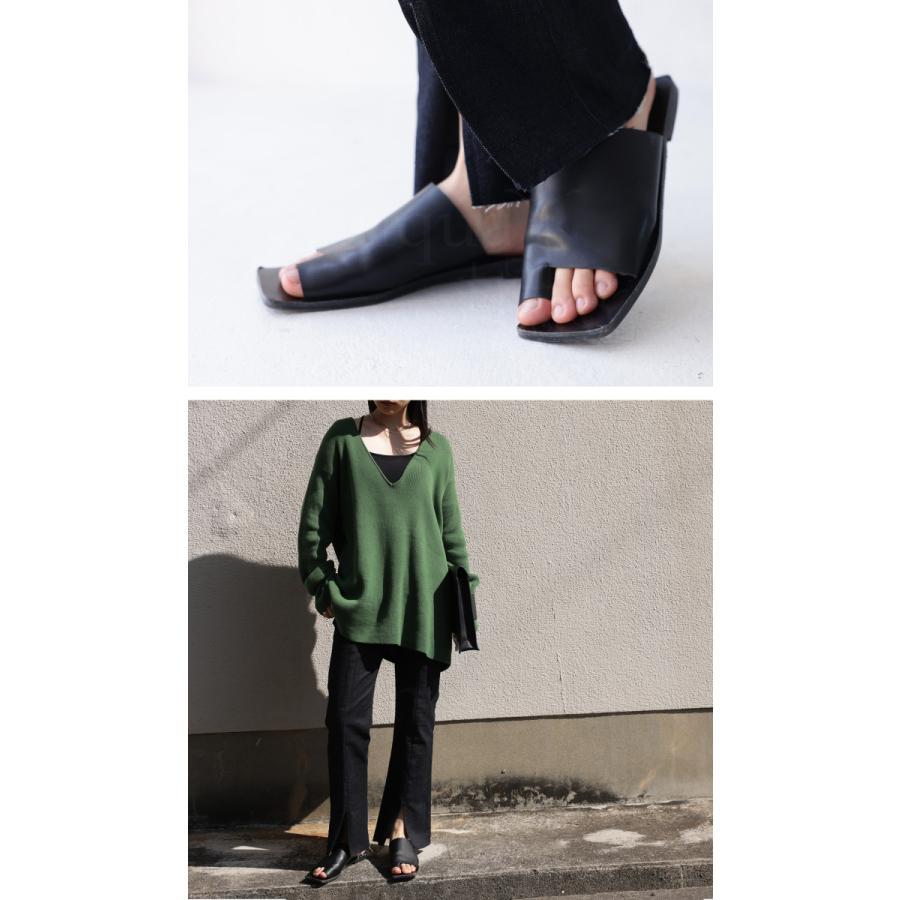 (予約:6月中〜下旬納期)スクエアサンダル サンダル 靴 レディース トングサンダル・5月10日0時〜メール便不可 母の日|antiqua|04