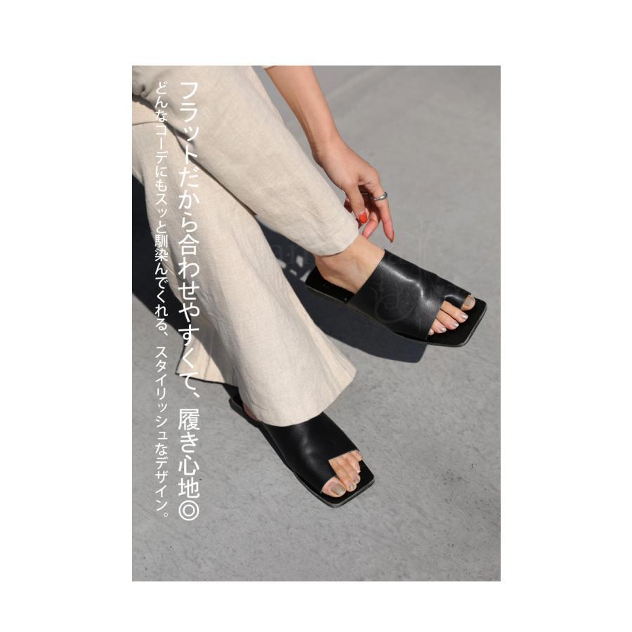 (予約:6月中〜下旬納期)スクエアサンダル サンダル 靴 レディース トングサンダル・5月10日0時〜メール便不可 母の日|antiqua|08