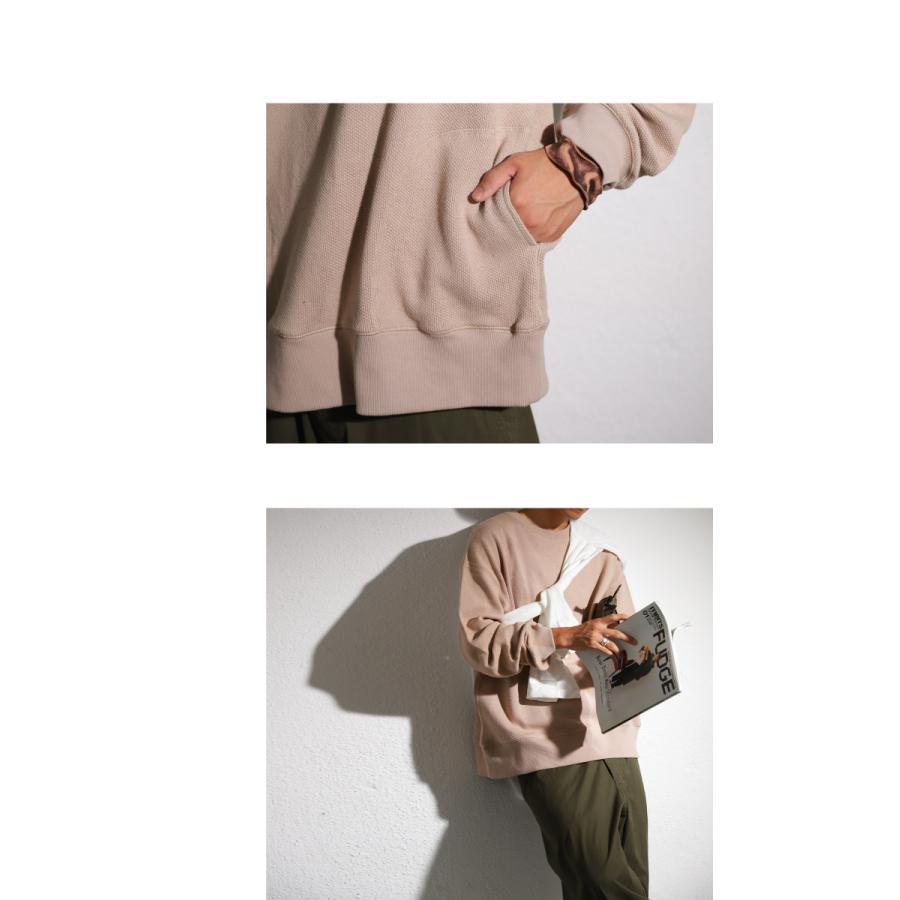 鬼鹿の子編みトップス プルオーバー メンズ 長袖 送料無料・9月4日10時〜発売。メール便不可|antiqua|21