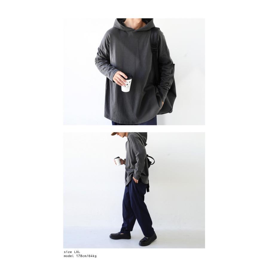 ピグメント加工パーカー プルオーバー メンズ トップス 長袖・9月4日10時〜発売。メール便不可|antiqua|18