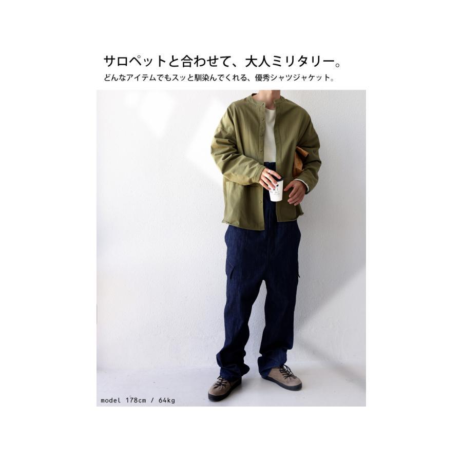 バンドカラーシャツ シャツ メンズ トップス 長袖 送料無料・9月24日10時〜発売。メール便不可 antiqua 12