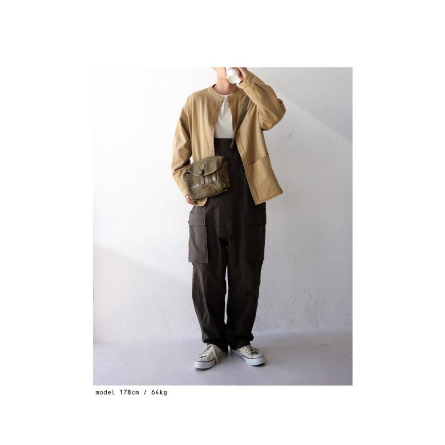 バンドカラーシャツ シャツ メンズ トップス 長袖 送料無料・9月24日10時〜発売。メール便不可 antiqua 15