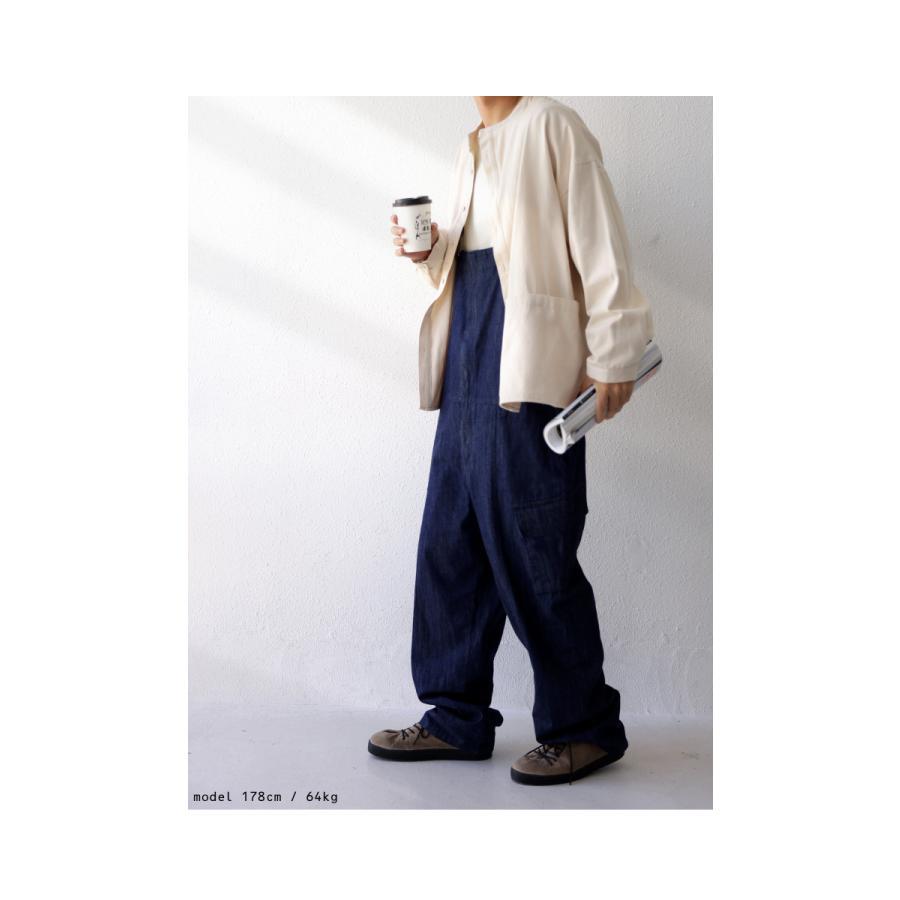 バンドカラーシャツ シャツ メンズ トップス 長袖 送料無料・9月24日10時〜発売。メール便不可 antiqua 17