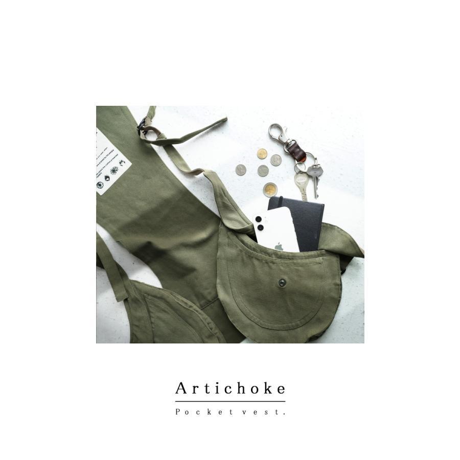 ポケットベスト ベスト メンズ トップス 綿100 送料無料・9月24日10時〜発売。メール便不可|antiqua|15