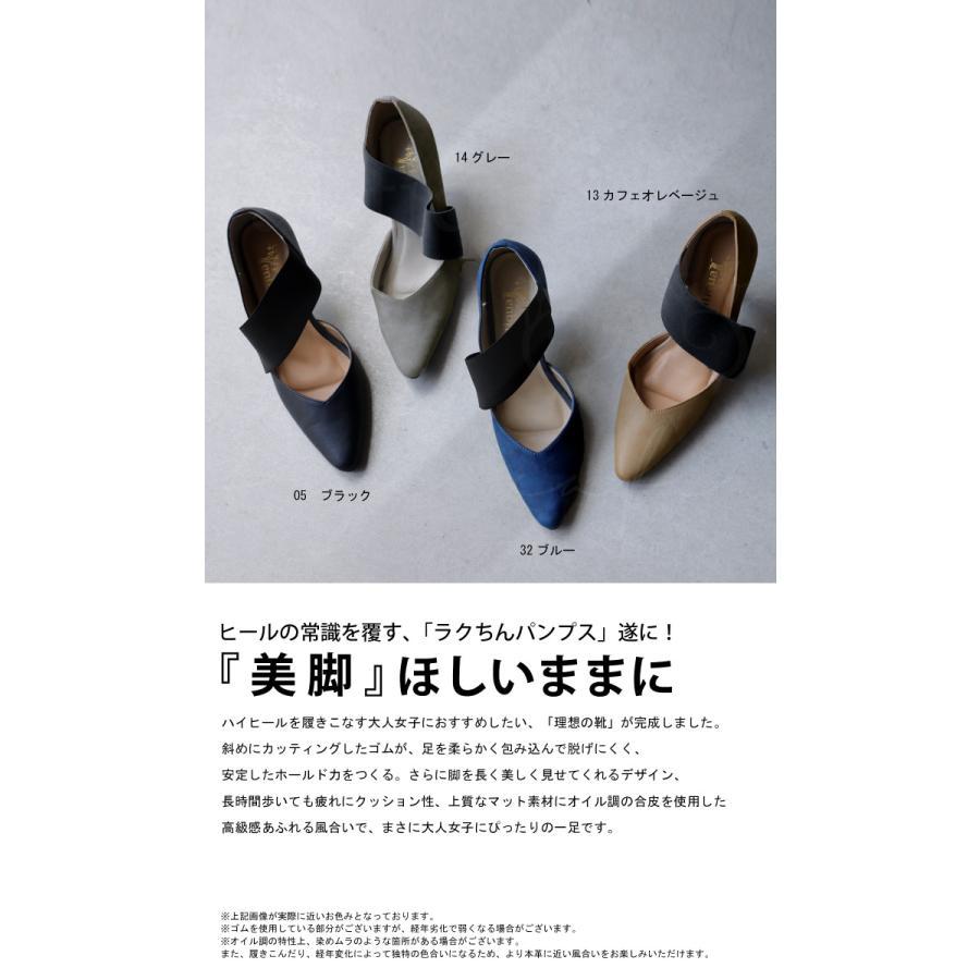 大人気商品!05番再入荷予定あり(再入荷ボタン登録でメールでお知らせ)靴 ゴア パンプス 歩きやすい ハイヒール ゴアパンプス 送料無料・再販。メール便不可 antiqua 02