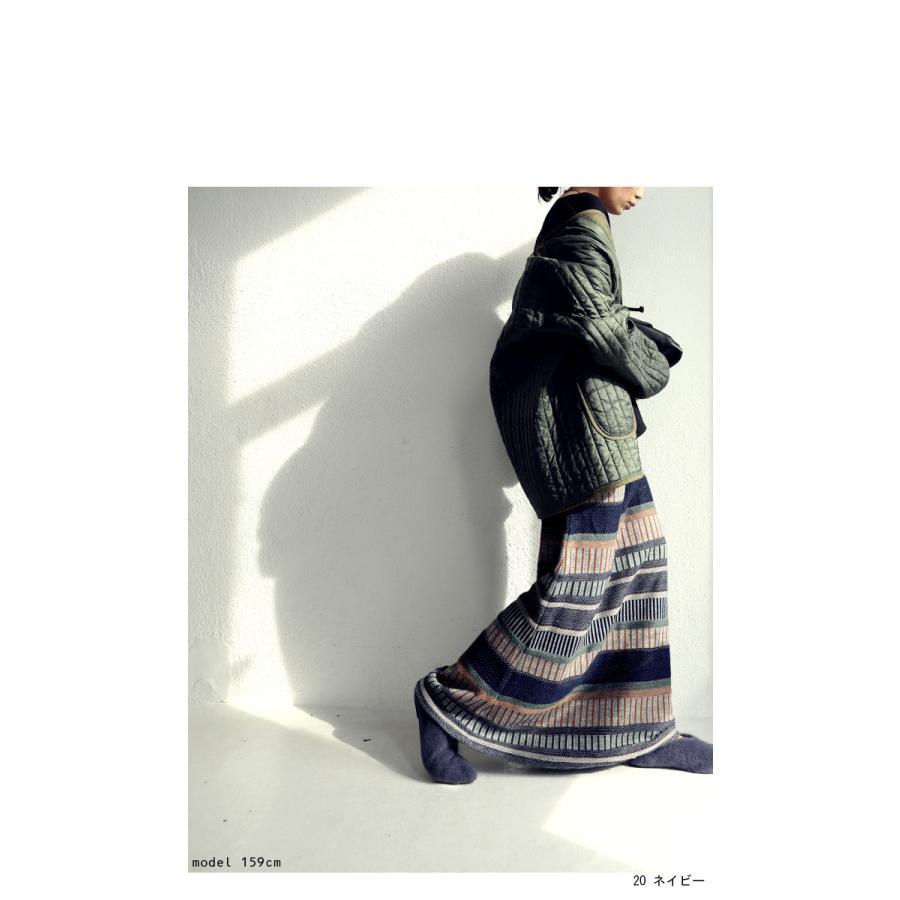 ニットスカート スカート レディース ボトムス 柄 送料無料・10月14日10時〜再再販。メール便不可 antiqua 19