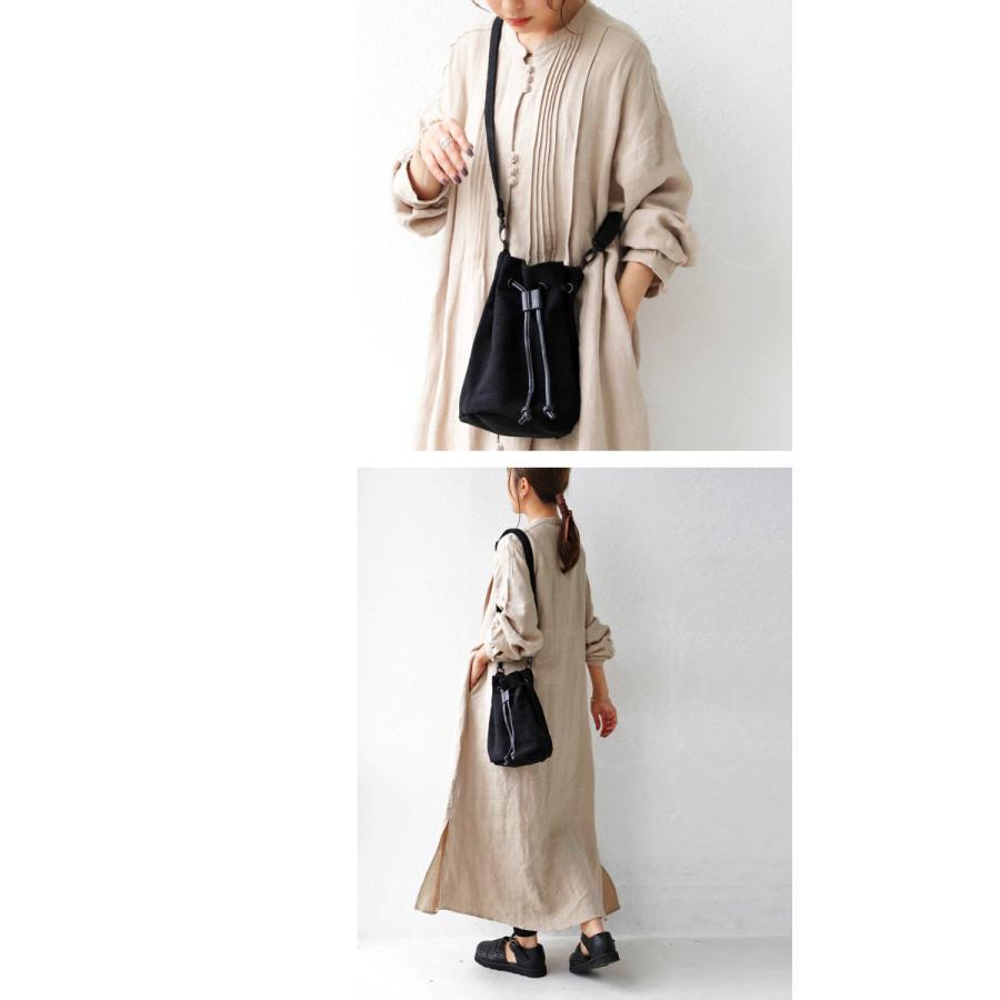 バッグ レディース 巾着 ショルダーバッグ ドロストバッグ リネン巾着バッグ・4月15日0時〜再販。メール便不可 母の日|antiqua|11
