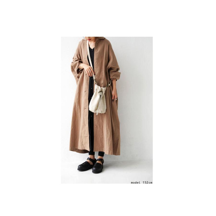 バッグ レディース 巾着 ショルダーバッグ ドロストバッグ リネン巾着バッグ・4月15日0時〜再販。メール便不可 母の日|antiqua|14