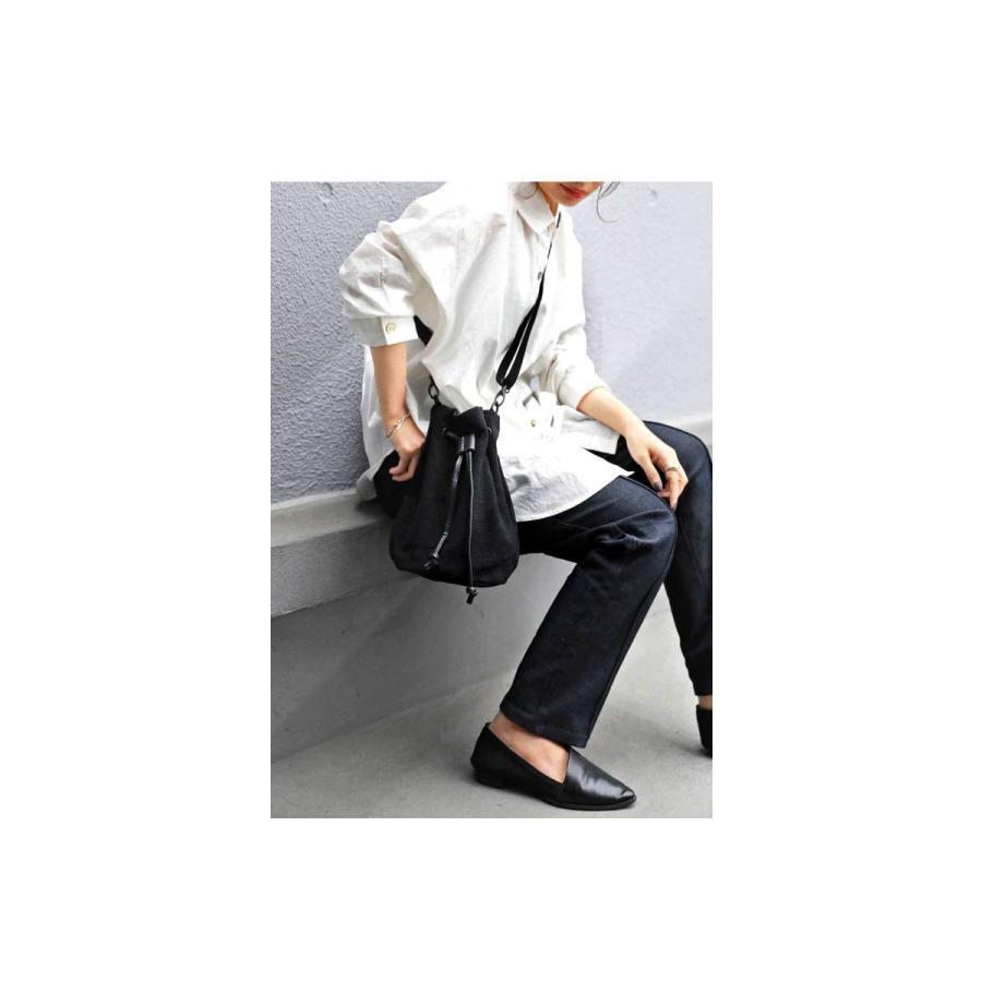 バッグ レディース 巾着 ショルダーバッグ ドロストバッグ リネン巾着バッグ・4月15日0時〜再販。メール便不可 母の日|antiqua|03
