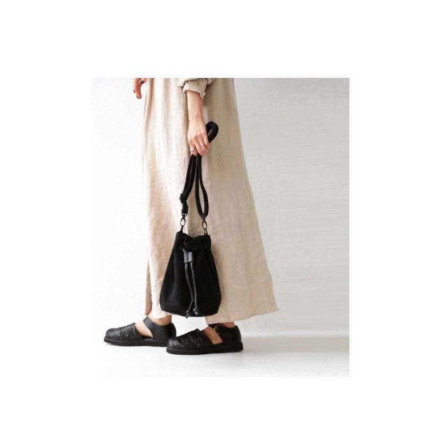 バッグ レディース 巾着 ショルダーバッグ ドロストバッグ リネン巾着バッグ・4月15日0時〜再販。メール便不可 母の日|antiqua|10